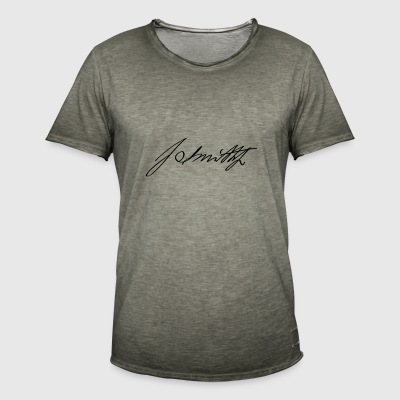 Joseph Smith Jr Signature - T-shirt vintage Homme