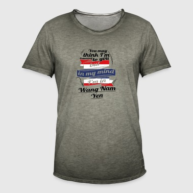 HOLIDAY HOME ROOTS TRAVEL IN Thailand Wang Nam - Men's Vintage T-Shirt