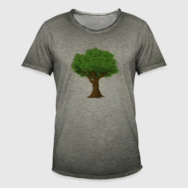 Tree for nature lovers and environmentalists - Men's Vintage T-Shirt