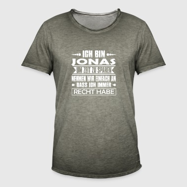 Jonas - I'm always right .. - Men's Vintage T-Shirt