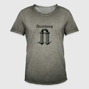 attraktion - Vintage-T-shirt herr