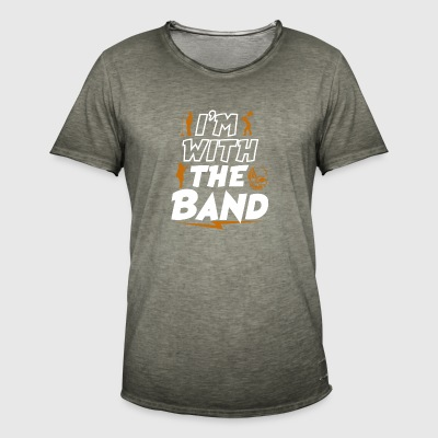 In The Band - Miesten vintage t-paita