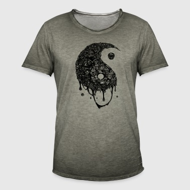 Yin Yang - T-shirt vintage Homme