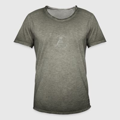 pyramide - T-shirt vintage Homme
