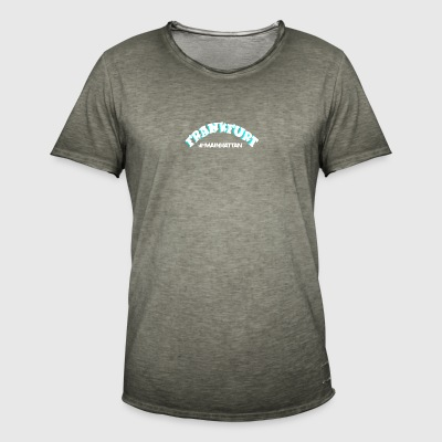 FRANKFURT am Main - Mainhattan Tee Shirt - Men's Vintage T-Shirt