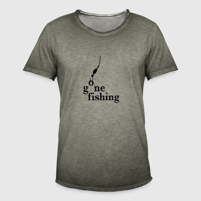 fishing - Men's Vintage T-Shirt