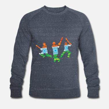 Cricket CRICKET INDIA - Men's Organic Sweatshirt by Stanley & Stella