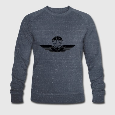 Italian Paratroops qualification badge subdued - Men's Organic Sweatshirt by Stanley & Stella