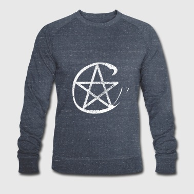 Pentacle protection icon witches icon - Men's Organic Sweatshirt by Stanley & Stella