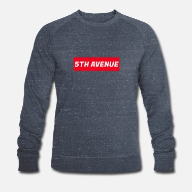Avenue 5th Avenue - Økologisk sweatshirt for menn fra Stanley & Stella
