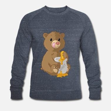 Orso simpatico cartone animato maglietta premium uomo spreadshirt