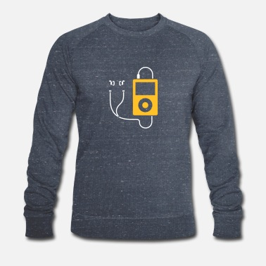 Mp3 / MP3-Player - Männer Bio Pullover