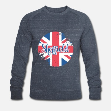 Button Sheffield - Men's Organic Sweatshirt