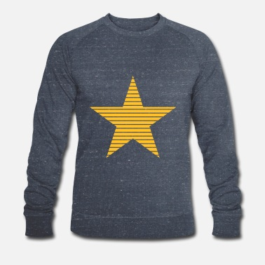 Stars And Stripes Star with Stripes - Men's Organic Sweatshirt