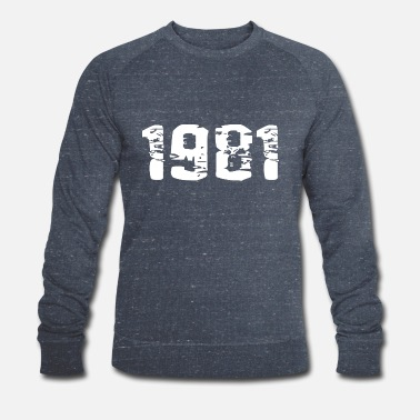 Birth Year of birth - Men's Organic Sweatshirt