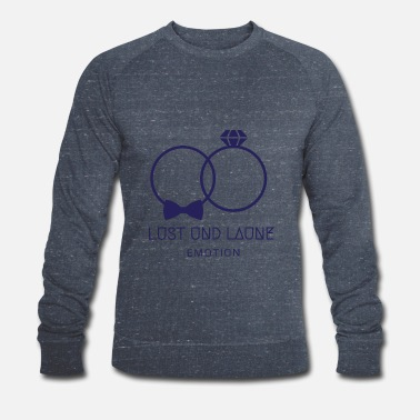 Lust Lust and mood - Men's Organic Sweatshirt