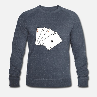 Cards card game - Männer Bio Pullover