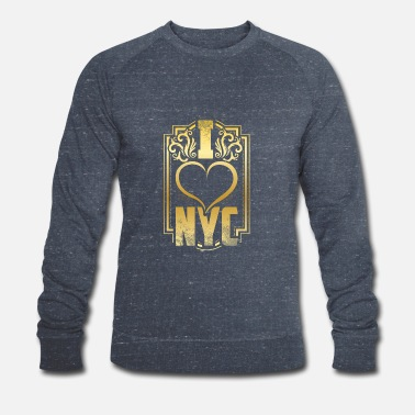 New York New York - Sweat-shirt bio Homme