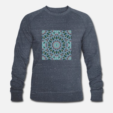 MANDALA ABSTRACT LILY ELODIE - Men's Organic Sweatshirt
