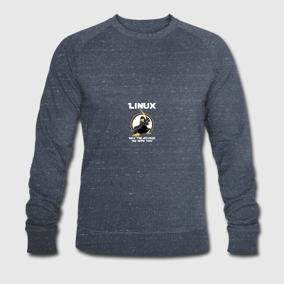 may_the_linux_source - Sweat-shirt bio Stanley & Stella Homme
