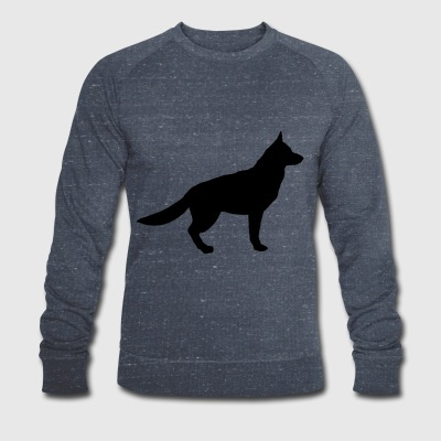 German shepherd - Men's Organic Sweatshirt by Stanley & Stella