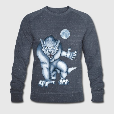 Werewolf - curse of the moon - Men's Organic Sweatshirt by Stanley & Stella