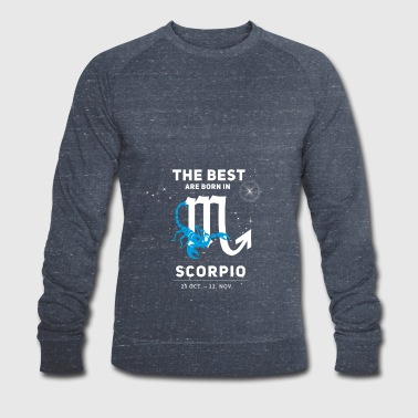 scorpion astrologie Octobre horoscope bo anniversaire - Sweat-shirt bio Stanley & Stella Homme