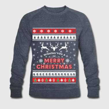 Ugly Christmas Sweater - Merry Christmas - Männer Bio-Sweatshirt von Stanley & Stella