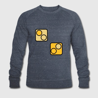 Dice Game | Dice Dice game | cup - Men's Organic Sweatshirt by Stanley & Stella
