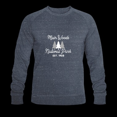 Parc national de Muir Woods Californie Redwood Forest - Sweat-shirt bio Stanley & Stella Homme