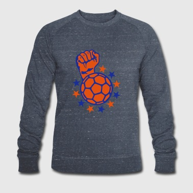 handball fist lift fist close up faust p - Men's Organic Sweatshirt by Stanley & Stella