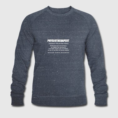 Physiotherapeut - Physiotherapeut Definition - Männer Bio-Sweatshirt von Stanley & Stella