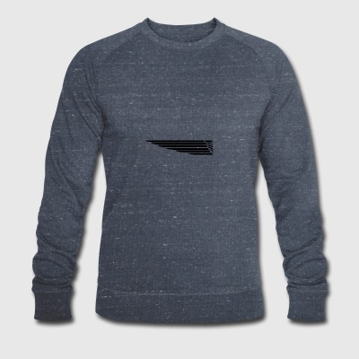 Eagle wing lung - Men's Organic Sweatshirt by Stanley & Stella