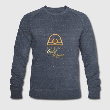 Mining: The literal Gold Digger - Men's Organic Sweatshirt by Stanley & Stella
