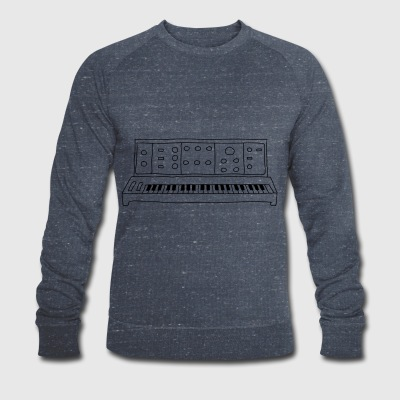 analog synthesizer - Men's Organic Sweatshirt by Stanley & Stella
