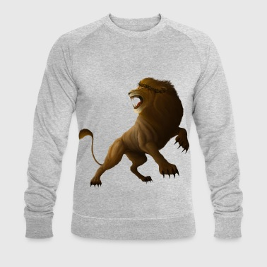 My Trace The Lion and the Lamb 2 (just Lion) - Men's Organic Sweatshirt by Stanley & Stella
