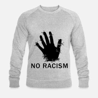 Against Against Nazis, against the right - Men's Organic Sweatshirt