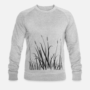 Tall The grass is tall - Men's Organic Sweatshirt by Stanley & Stella