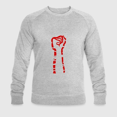 Against right-wing extremism and violence - Men's Organic Sweatshirt by Stanley & Stella