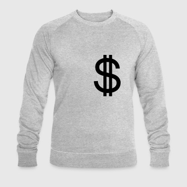 Dollar - Men's Organic Sweatshirt by Stanley & Stella