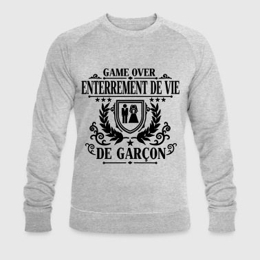 Enterrement de vie de garçon - Game Over - Sweat-shirt bio Stanley & Stella Homme