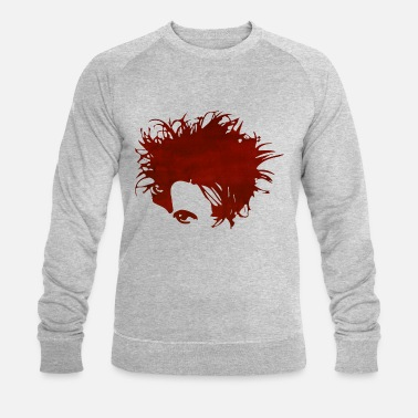 New Wave Hero Red - Mannen bio sweatshirt van Stanley & Stella