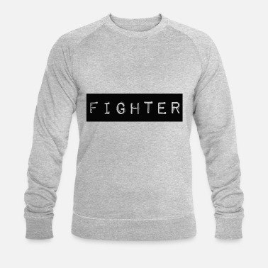 Taekwondo Fighter Shirt Design Black - Ekologisk tröja herr