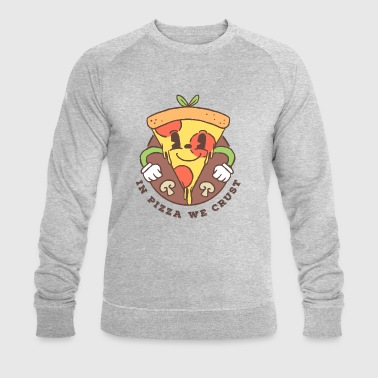 In Pizza we crust - Männer Bio-Sweatshirt von Stanley & Stella