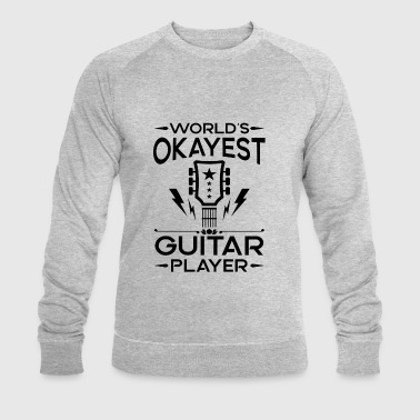 World's Okayest Guitar Player - cool band gift - Ekologisk sweatshirt herr från Stanley & Stella
