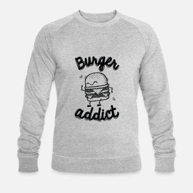 Burger Addict - Sweat-shirt bio Stanley & Stella Homme
