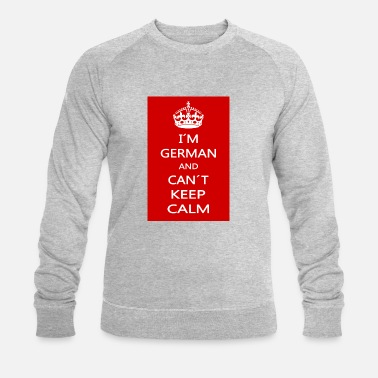 Calm KEEP CALM - Men's Organic Sweatshirt