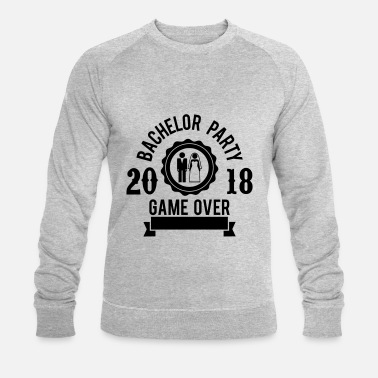 bachelor party game over 2018 jga hochzeit groom t shirt. Black Bedroom Furniture Sets. Home Design Ideas