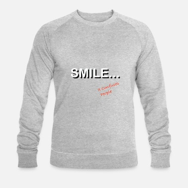 Smile SMILE - Sweat-shirt bio Homme