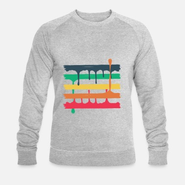 5 colored beams - Männer Bio-Sweatshirt von Stanley & Stella